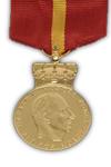 Koninklijke Medaille voor Burgertrouw in goud