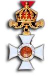 Koninklijke Orde van Sint Alexander 4e Klasse (Officierskruis)