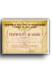 ETO Certificate of Merit