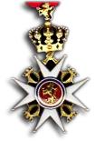 Ridder 1e Klasse/Officier bij de St. Olafs Orde