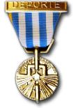 De Medaille voor Gedeporteerden en Geïnterneerden omwille van Politieke Activiteiten