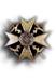 Spanienkreuz, Bronze mit Schwertern