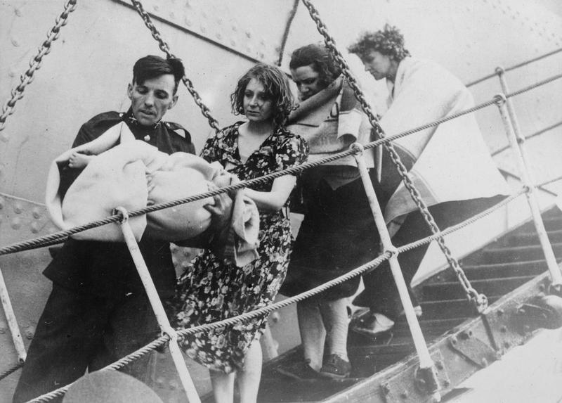 The Dastardly Sinking of the 'Athenia'
