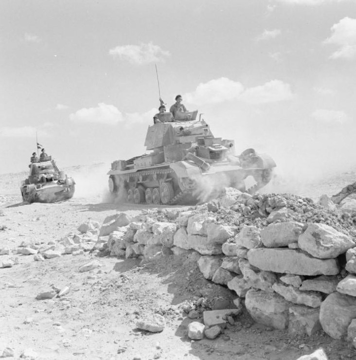 Off for a 'Cruise' in Tobruk's Perimeter