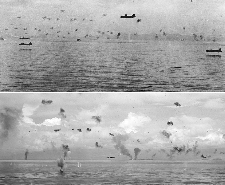 Japanese Bombers in the Solomons