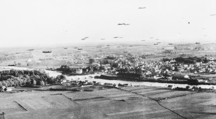 The Incomparable Air Photograph of the War!