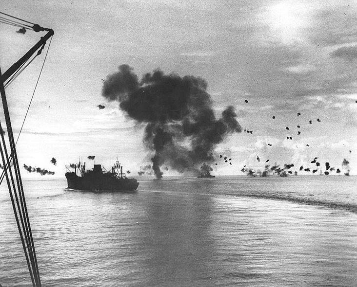 Fierce Battle off Guadalcanal