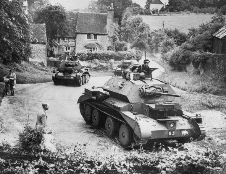 Tanks are Part of the English Countryside in Summer Now
